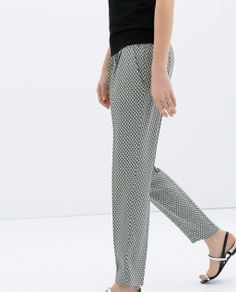 Zara trousers - not sure I could pull these off but they look sooo comfy!