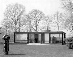Pedro E. Guerrero, 'The Glass House, New Canaan, Connecticut, (Phillip Johnson, Architect),' 1984, Edward Cella Art and Architecture