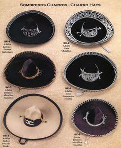 Sombreros de Charro !!....segun el evento al que asistan y edad ..