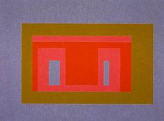 Josef Albers, On Tideland, 1947-1955
