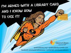 superhero librarian