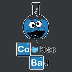 Cookies Bad! Breaking Bad and Sesame Street Mash up!