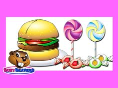 Yum Cake. Learn the Names of Your Favorite Treats, Sweets and Snacks with this Educational Video.