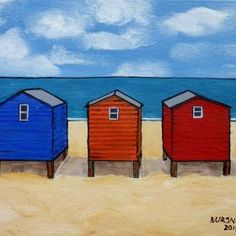 B Huts by Paul Bursnall