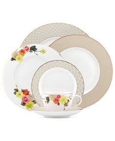 kate spade new york Waverly Pond Collection - Fine China - Macy's
