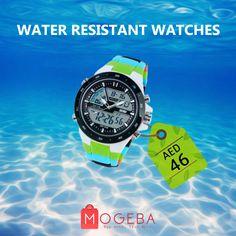 Water Resistant Watches Shop Online @ www.mogeba.com #mogebashopping #mogeba #watches #watch #men #women #ladies #water #waterresistant #beach #uae #dubai #jumairah