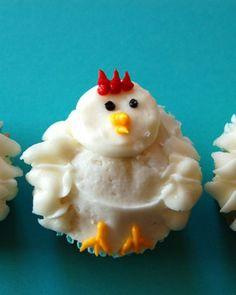 Chicken Cupcake! How cute!