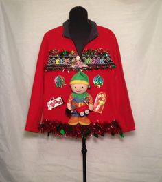 Obnoxious christmas sweater