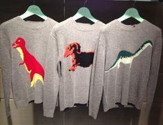 恐竜セーター