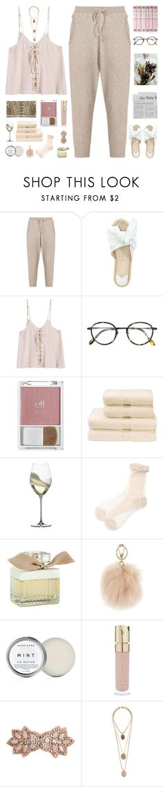 """""""good shoes take you good places"""" by my-pink-wings ❤ liked on Polyvore featuring Tsumori Chisato, Paloma Barceló, Frency & Mercury, Balmain, e.l.f., Christy, Riedel, Chloé, Furla and Herbivore"""