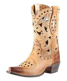 LOVE LOVE LOVE!  Take a look at this Oak Barrel Paloma Boot - Women by Ariat on #zulily today!