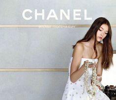 Yumi Lambert- Model of the Moment! www.chicstudiosnyc.com/blog #CHANEL