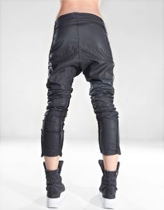 baggy trousers headman limited edition easy wear waxed baggy trousers ...