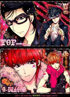 Tags: Anime, K-pop, G-dragon, Big Bang, T.O.P