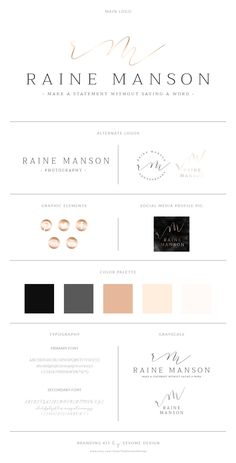 Watercolor Logo Design Branding Package,Photography Logo Watermark - Black Watercolor Gold Foil Logo,Elegant Script Style Brand Kit by TheEesomeDesign on Etsy https://www.etsy.com/listing/514877175/watercolor-logo-design-branding