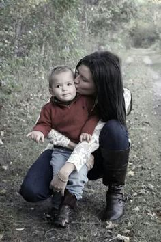 """Trying to have a photo sesh with a 2 year old boy . I thought we got nothing but I love it! Jaxon has the perfect """"OK. Thats enough Mom."""" Look on his face! Family Picture Poses, Fall Family Photos, Family Pics, Fall Photos, Picture Ideas, Photo Ideas, Children Pictures, Mom Pictures, Holiday Pictures"""