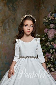 Girls Party Dress, Birthday Dresses, First Communion Dresses, White Flower Girl Dresses, Gala Dresses, Ladies Dress Design, Occasion Dresses, Ball Gowns, Bridesmaid Dresses