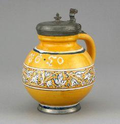 IMM gyűjtemények Decanter, Hungary, Pewter, Workshop, Jar, Ceramics, Decor, Tin Metal, Hall Pottery