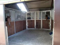 U shaped #stables layout in a #horse barn  interesting Small aisles for each trainer/group of girls who are friends? One for lesson horses, dressage riders, competitive eventers, hunter jumpers, retired horses, ponies, green/untrained horses.. Cool! One for lease horses too..