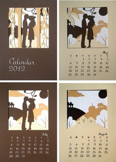 cool idea for a calendar!