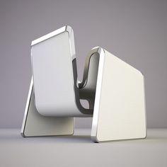 M Chair by Svilen Gamolov, Futuristic Furniture