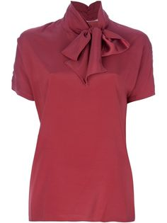 JUCCA - Pussy bow blouse 6