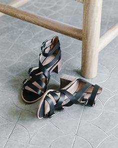 the getaway shop: madewell talisa buckle sandal.