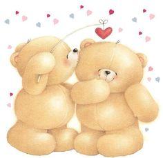 ʕ *؈* )♥ forever friends teddy bear friends forever, friends in love, frien Teddy Bear Images, Teddy Bear Pictures, My Teddy Bear, Cute Teddy Bears, Friends Image, Friends In Love, Calin Gif, Bear Graphic, Hallmark Cards