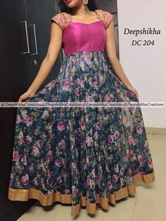 ✩ Check out this list of creative present ideas for people who are into photograhpy Lehenga Designs, Salwar Designs, Kurta Designs Women, Kurti Designs Party Wear, Long Gown Dress, Frock Dress, Saree Dress, Long Frock, Long Dress Design
