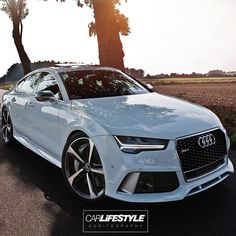 """""""Audi RS7! • Photo by @auditography ____________________________ #CarLifestyle for a chance to be featured!"""""""