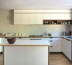 patterned geometric splashbacks - Google Search