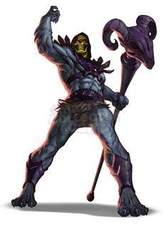 Skeletor by Alvin Lee
