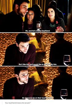 """#HTGAWM 1x13 """"Mama's Here Now"""" - Connor, Michaela and Laurel"""
