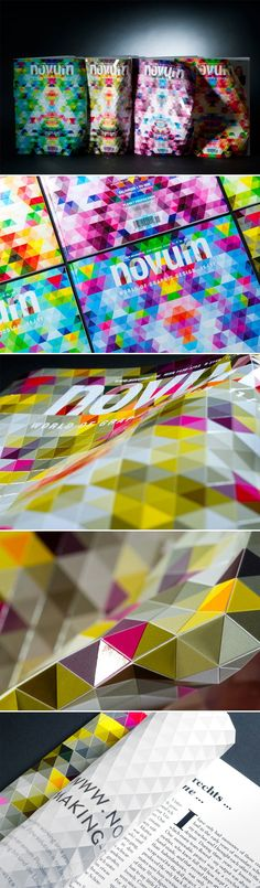 Vidéo, à voir absolument sur la couverture du magazine Novum - Journal du Design
