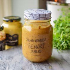 Glad Jul | Oppskrifter | Gladkokken Candle Jars, Mason Jars, Dips, Food, Sauces, Candle Mason Jars, Dipping Sauces, Eten, Canning Jars