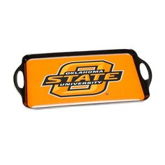 BSI Products Ncaa Oklahoma State Cowboys Melamine Serving Tray