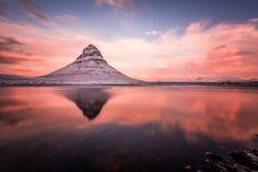 Фотография Kirkjufell автор Benjamin Hardman на 500px