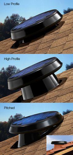 Solar Star Solar-powered Attic Ventilation Systems | Solatube