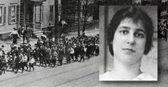 JAN. 28, 1896: Hannah Silverman is born. At seventeen she is one of the leaders of the Paterson Silk Strike of 1913.