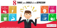 When your mental health is disturbed, every activity gets affected, be it household chore or an office task. The sad thing in India is , physical health issues is given more preference and mental health problems are taken lightly. The above Infographic explains 8 things you should do in depression.It also sheds light on some intereting facts that one needs to know.