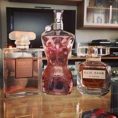 Chanel Coco Mademoiselle, Jean Paul Gaultier Classique, Ellie Saab Le Parfum