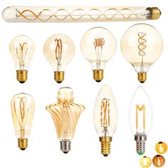 Cheap LED Bulbs Tubes, Buy Directly from China LED Edison Light Bulb Dimmable Retro Carbon Lamp Vintage Tungsten Indoor Lighting Decor Edison Led, Edison Lighting, Chips Brands, Retro, Leaded Glass, Vintage Lamps, Incandescent Bulbs, Light Decorations, Light Bulb