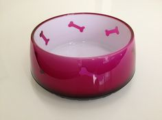 Dogue Glossy Dog Bowl Pink Small $17.95 The Ultimate gift to spoil your beloved pet: * Stunning, sturdy plastic bowl that looks like glass * Heavy duty plastic that's almost indestructible * Non skid rubber base * Quality Dogue designer brand * Available Colour: Gloss pink, Blue, Red, Green