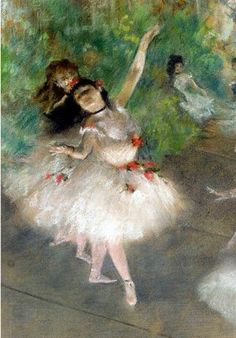 Degas ~ Ballet dancer.