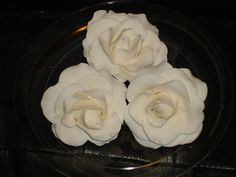 Lifelike Gumpaste Roses for Wedding, Christening, Briday Shower and Special Event Cakes