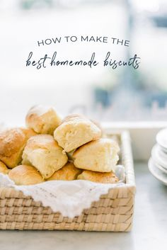 The Best Biscuit Recipe Ever with Callie's HLB - Darling Down South Breakfast For Dinner, Breakfast Recipes, Dinner Recipes, Best Ever Biscuit Recipe, Southern Biscuits, Homemade Biscuits, Buttermilk Biscuits, Homemade Pasta, Homemade Breads