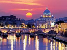 Evening in Rome - 1000pc Glow-in-the-Dark Jigsaw Puzzle By Ravensburger http://www.seriouspuzzles.com/i12854.asp