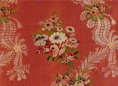 French silk, ca. 1760.