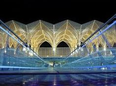 Oriente station, lisbon - portugal