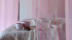 Bohemian: linen fabric from Elitis